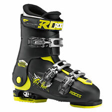 Roces Skischuh Kinder Idea Grössenverstellbar Black-lime