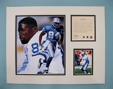 Detroit Lions HERMAN MOORE 1996 NFL Football 11x14 Matted Lithograph Print