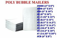 Poly Bubble Mailers Padded Envelopes Protective Packaging Shipping Mailing Bags