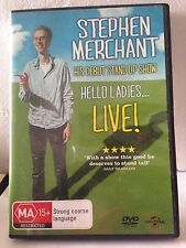 STEPHEN MERCHANT - HIS DEBUT STAND UP SHOW (R4-PAL-GOOD) - DVD #698
