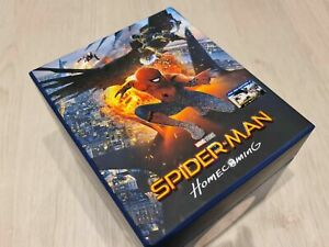 Film Arena Spider-Man Homecoming One click Steelbooks (Blu-ray) Sealed. Mint.