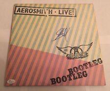 Steven Tyler Signed Aerosmith Live! Bootleg  Album Vinyl JSA #N11426 Auto