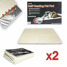 2x MAGIC AMAZING SELF HEATING THERMAL PET TUNNEL BED CAT DOG PUPPY WARM MAT SOFT