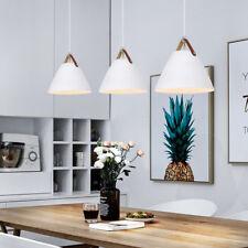 Modern Pendant Light Kitchen White Ceiling Lights Bar Home Chandelier Lighting