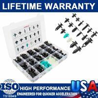 299pcs Car Body Push Pin Rivet Bumper Retainer Trim Clip Panel Assortments Kit