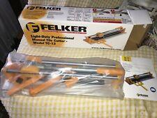 "Felker Tc-13 13"" Professional Manual Ceramic Floor Tile Saw Cutter w/ Case New!"