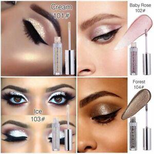Eyeshadow Palette Metallic Diamond Pearly Glitter Sparkling Eye Shimmer Pigment