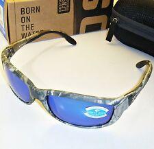 Costa Del Mar Zane Polarized Sunglasses-Realtree AP Camo/Blue Mirror 400G Glass