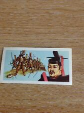 Rare Trade Card Goodies Wicked Monarchs No 10 Shogun Yoritomo M489