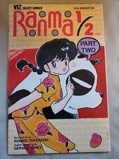 Ranma 1/2 Part two # 2 Manga Comic Rumiko Takahashi Viz 1993