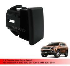 2 X Console Hole Cover Switch Fit Isuzu MU-X MUX Pickup 2012 - 2018