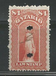 Canada Revenue - Ontario - Van Dam no OL57 - used - VF
