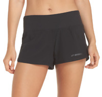 Brooks Chaser Shorts Black Women's Size XS 73422