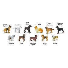 Dogs Toob Mini Figures Safari Ltd NEW Toys Collectibles Education Kids Animals