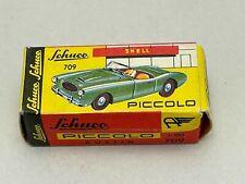 Vintage 1:90 Western Germany Schuco PICCOLO GREEN AUSTIN Healey No. 709 W/ Box