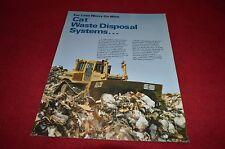 Caterpillar Cat Waste Disposal Systems Dealer's Brochure DCPA4