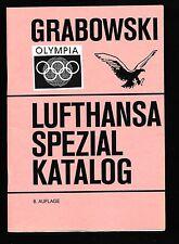 103) Grabowski Lufthansa Spezial-Katalog Olympiade LP 1960 - 1993