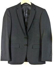 Emerald Zalio Mans Black Blazer Jacket 34S/28W 2 button Great For Boys 10-13 yrs