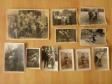 Konvolut alte Fotos: 11 x altes Foto Kinder Schulanfang Einschulung Zuckertüte
