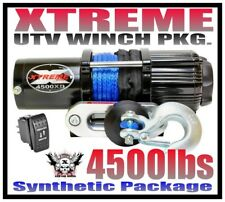 4500LB XTREME UTV WINCH 14-18 POLARIS RZR/RZR 4/GENERAL 900/1000/TURBO RXR RAZOR