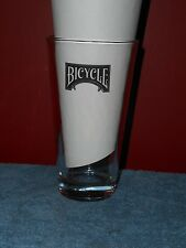 Bicycle Brand Poker Cards Beer Glass Vintage Pint Ale Bar Glass Circa 1960's