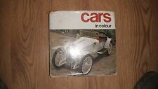 1960s 'Cars in Colour' Book