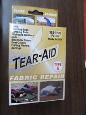 One (1) Tear-Aid Fabric Repair Type A Vinyl Patch  NEW  FREE Shipping