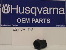 Genuine OEM HUSQVARNA 537111402  INTAKE ADAPTER BOOT FITS 390 385 CHAINSAWS