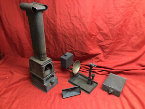 Rare Riley Brothers Praestantia  Antique Magic Lantern  Slide Projectors