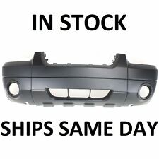New Primered - Front Bumper Cover Replacement For 2005-2007 Ford Escape w/ Fog