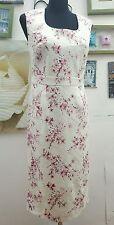 BHS Floral Sleeveless Dresses Midi for Women