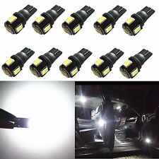 JDM ASTAR 10x Super White T10 5630 SMD LED Bulb for Toyota Interior Lights Lamps