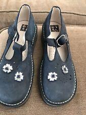neuf , NOEL,chaussures filles nubuck bleu p 34