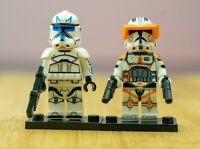 Custom Commander Cody Lego Star Wars Clone Arc Trooper Mini Figure
