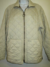 "Barbour D917 Flyweight Quilted jacket S 36-38"" Euro 46-48 in Cream"