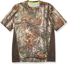 Under Armour Men's Realtree Xtra Early Season Hunting Short Sleeve Shirt XLarge