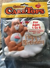 Unopened 1984 Wilton CakeTops Happy Birthday Care Bear (Ages 1-6) No.2113-1475