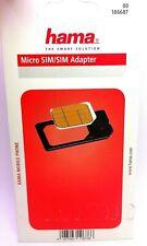 Hama  Micro SIM Adapter  Kartenadapter Original Smartphone  Micro Card