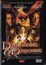 DUNGEONS & DRAGONS (DRAGONES Y MAZMORRAS) de Courtney Solomon con Jeremy Irons.