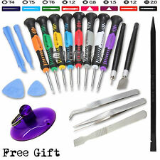 20 in1 Cell Phone Repair Tool Screwdrivers Kit HTC iPhone 5 4S 4 iPad Blackberry