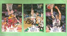 #8. LOT OF 3 NBL AUSTRALIAN  BASKETBALL SIGNED CARDS