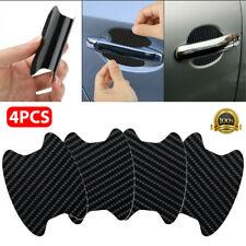 4PCs Carbon Fiber Car SUV Door Handle Protector Film Anti-Scratch Cover Guard US