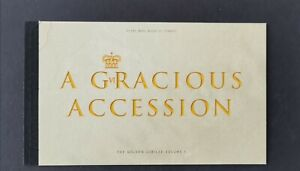 GB 2002 A GRACIOUS ACCESSION PRESTIGE BOOKLET IN SUPERB MNH CONDITION.