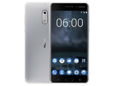 "4G 32G Silber Cell Phone Nokia 6 Octa Core Dual SIM 5,5"" Inch Android Smartphone"