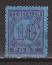 P2 Port nr. 2 used gestempeld NVPH Netherlands Nederland Pays Bas due portzegel