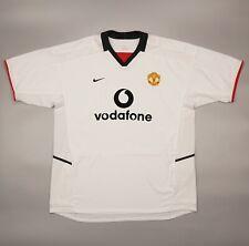 NWOT Manchester United 2002 2003 Away Football Soccer Shirt Jersey Nike Camiseta