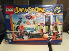 New in Box Complete LEGO 4620 JACK STONE Airport Vintage