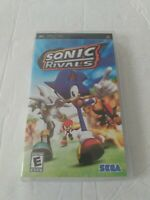 Sonic Rivals (Sony PSP, 2006) Complete with Case & Manual - Tested