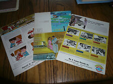 1960's Chevrolet Monthly Flyers - Three - Vintage