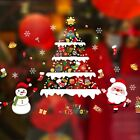 Christmas Glass Sticker Decal Mural Home Decoration Wall Stickers Wall Decor